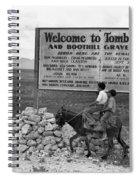 Arizona Tombstone, 1937 Spiral Notebook