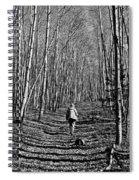 Arizona Winter Trail Spiral Notebook
