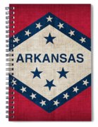 Arkansas State Flag Spiral Notebook