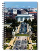 Arlington Memorial Bridge Leads Spiral Notebook