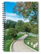 Arlington National Cemetery Part 2 Spiral Notebook