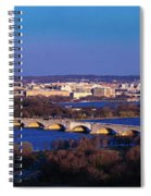Arlington, Va - Wash D.c. - Panoramic Spiral Notebook