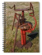 Arm Strong Tire Changer Spiral Notebook