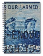 Armed Services Women Stamp Spiral Notebook