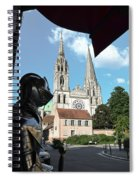 Armor And Chartres Cathedral Spiral Notebook