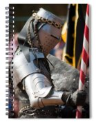 Armored Joust Knight Spiral Notebook