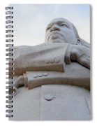 Arms Of Justice Spiral Notebook