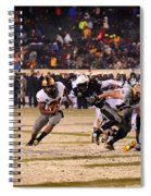 Army And Navy In The Snow Spiral Notebook