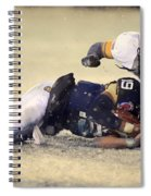 Army Versus Navy In The Snow 2013 Spiral Notebook