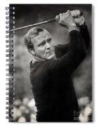 Arnold Palmer Pro-am Golf Photo Pebble Beach Monterey Calif. Circa 1960 Spiral Notebook
