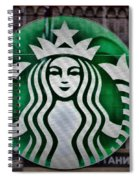 Aroma Of Coffee Spiral Notebook