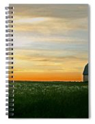 Aroostook Sunset Spiral Notebook