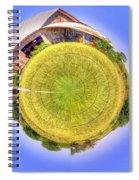 Around And Around And Around Spiral Notebook