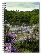 Around Bethesda Fountain Spiral Notebook