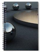 Around Circles Spiral Notebook