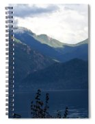 Around Lake Crescent - Washington Spiral Notebook