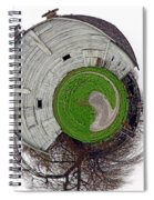 Around The Barn Spiral Notebook