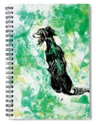 Around The Bend Spiral Notebook