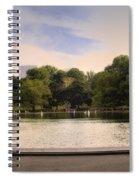Around The Central Park Pond Spiral Notebook