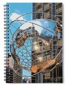 Around The World In Nyc Spiral Notebook