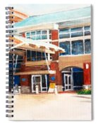 Around Work Spiral Notebook