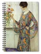 Arranging Flowers Spiral Notebook