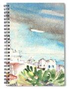 Arrecife In Lanzarote 10 Spiral Notebook