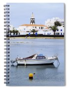 Arrecife On Lanzarote Spiral Notebook