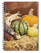 Arrival Of Autumn Spiral Notebook