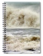 Arrival Of Sandy Spiral Notebook