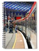 Arrivals Spiral Notebook