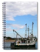 Arriving At The Harbor Spiral Notebook