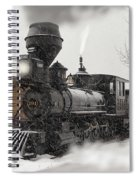 Arriving Spiral Notebook