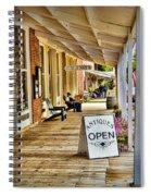 Arrow Rock - Boardwalk Shops Spiral Notebook