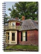 Arrow Rock - John P Sites Home Spiral Notebook
