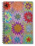 Art Abstract Background 13 Spiral Notebook