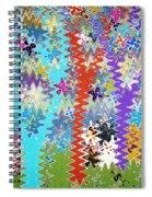 Art Abstract Background 14 Spiral Notebook