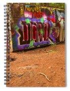 Art Along The Cheakamus River Spiral Notebook