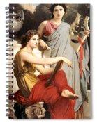 Art And Literature Spiral Notebook