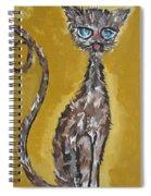 Cat Art Spiral Notebook