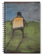 art critic relieves himself on Rothko's field Spiral Notebook