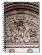 Art Deco 19b Spiral Notebook