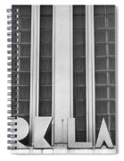 Art Deco Address In Montreal Spiral Notebook