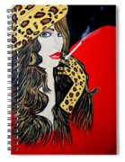 Art Deco Bell Spiral Notebook