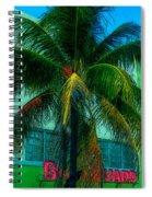 Art Deco Boulevard Hotel Miami Spiral Notebook
