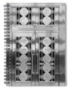 Art Deco Door 2 Spiral Notebook