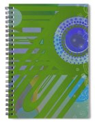 Art Deco Explosion 2 Spiral Notebook