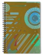 Art Deco Explosion 4 Spiral Notebook