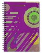 Art Deco Explosion 6 Spiral Notebook