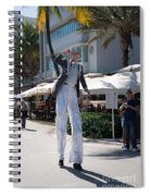 Art Deco Festival Street Scenes Spiral Notebook